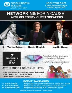 Networking for a cause with celebrities @ Munro Hotel Botique