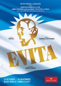 Hospice Fundraising Performance of the musical EVITA @ Montecasino's Teatro,