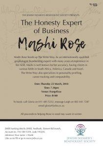 Mashi Rose an internationally qualified graphologist