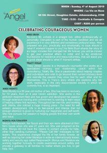 Celebrating courageous women with the Angel network @ La Vie en Rose