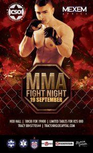 CSO Fight night @ HOD Hall