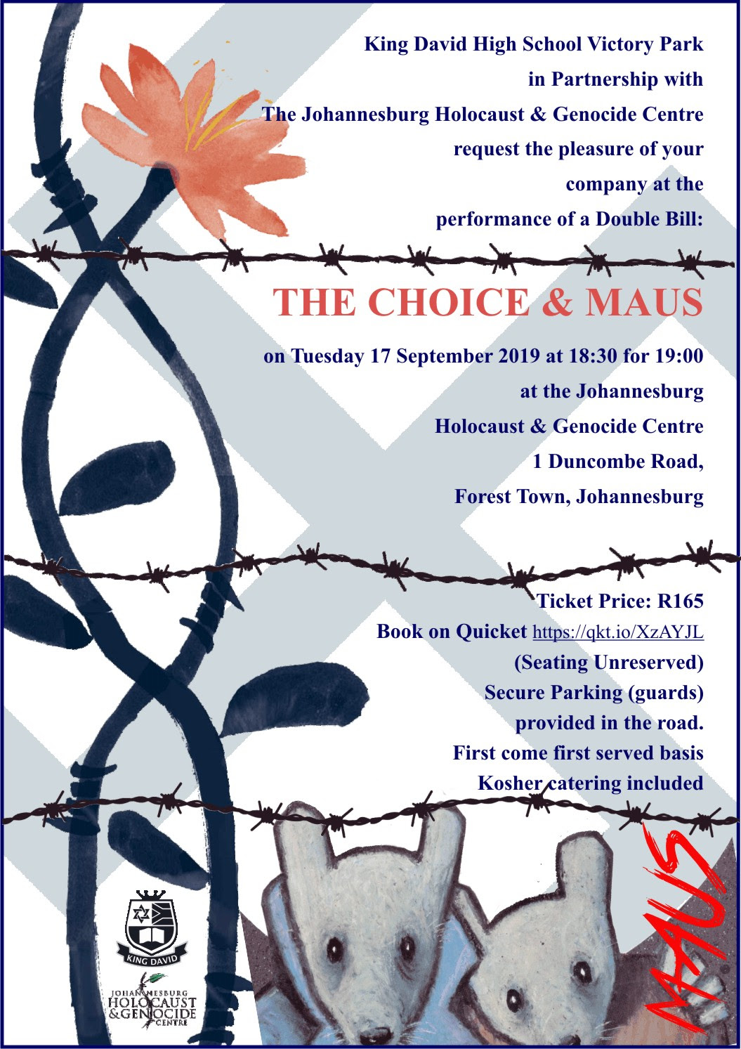 King David Victory Park & the Holocaust center : The choice &Maus