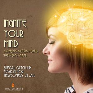 Ignite your mind classes @ Jewish Life center