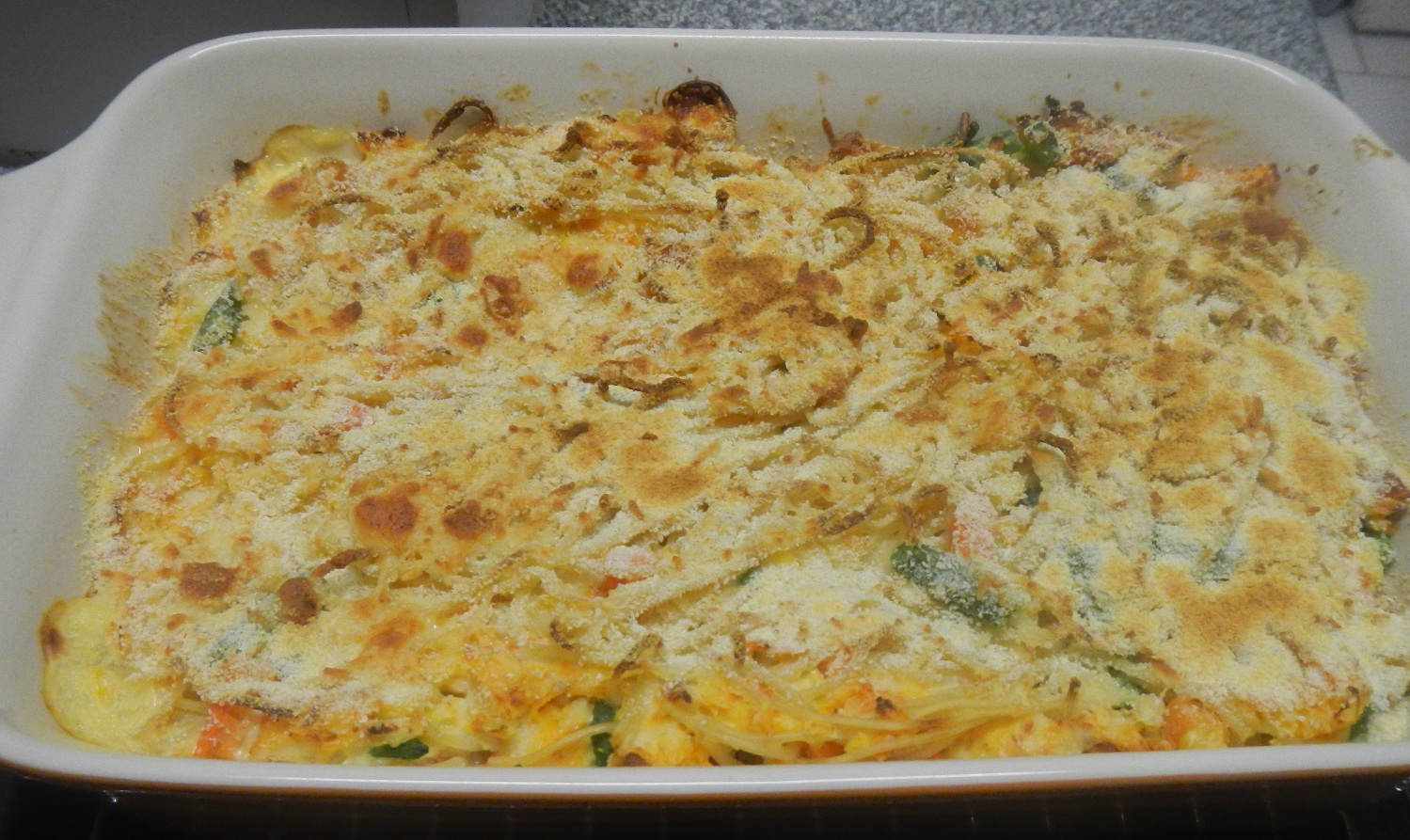 Cheesy Haddock and Pasta Bake